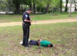 Another Black man down
